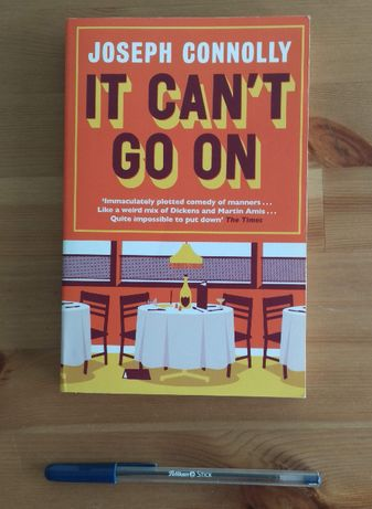Livro - It can't go on - Joseph Connolly