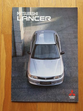 MITSUBISHI Lancer 1300 GL 1300 GLX, 1300 automatic prospekt PL 1998