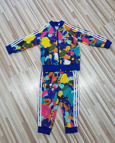 Komplet Adidas bluza spodnie