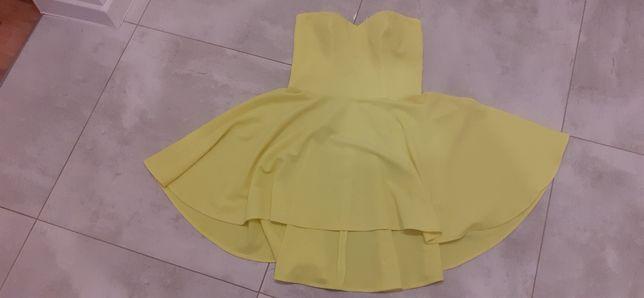 Sprzedam sukienkę kolor neonowy