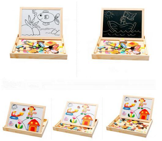 Разивающая игра Магнитная доска для рисования 30х23 см ОПТ и РОЗНИЦА