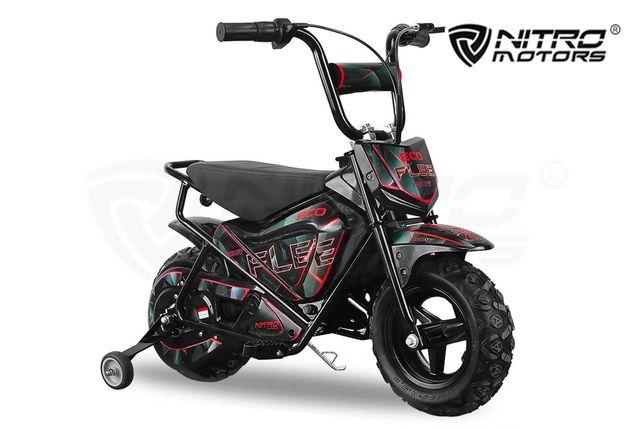 rower elektryczny dirt bike cross bike  24V Eco Flee 2-stopniowa
