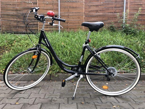 Rower miejski b'twin + koszyk