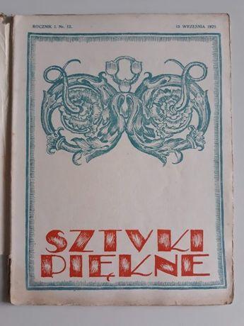 Sztuki piękne. Miesięcznik nr 12, 1925