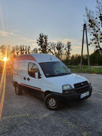 Fiat doblo 2003 1.9d, podwyższony dach.
