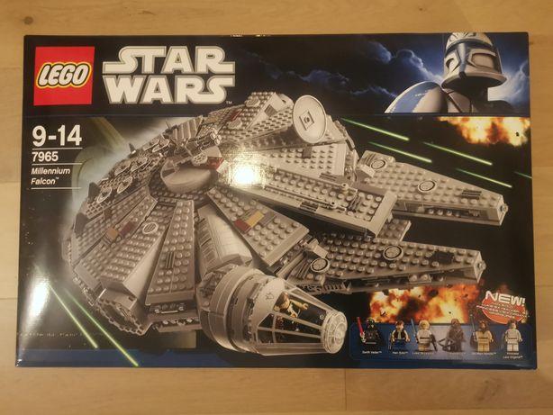 LEGO STAR WARS 7965 Millennium Falcon/ Nowy / Stan Idealny