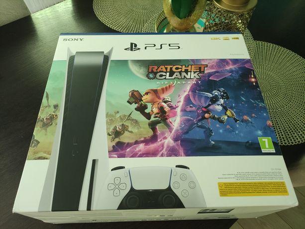 AKTUALNE NOWA Konsola Playstation 5 + GRA Ratchet & Clank: Rift Apart