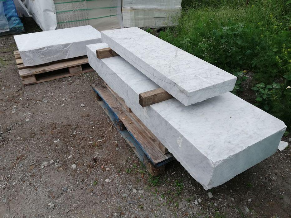 Bloczki Marmurowe Bianco di Carrara Poskwitów - image 1