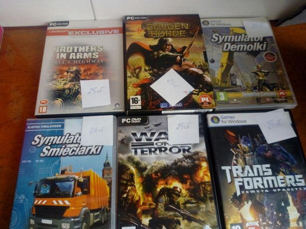 Gry front mission evolved, star wars, trans formers,