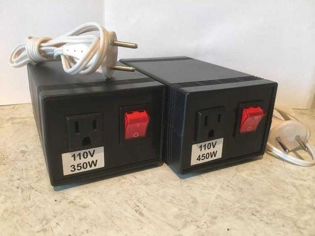 Трансформатор,преобразователь перетворювач з 220на 110 V-- 350 W,450W