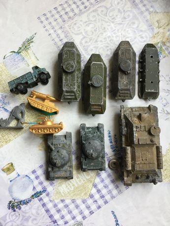 Модели танков СССР.
