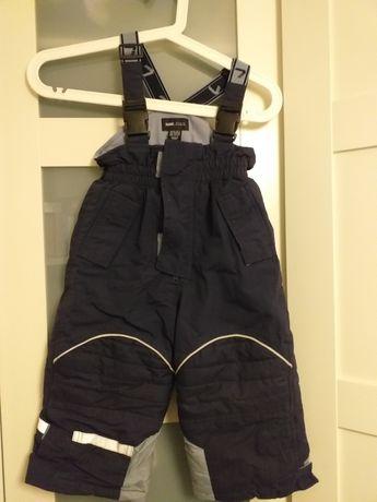 Spodnie narciarskie zimowe h&m roz.92