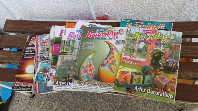 Bricolage e Decoração - 12 revistas e 1 coletânea especial