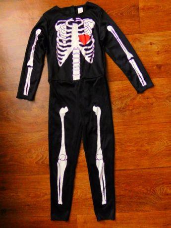 костюм скелет 5-7 лет TU карнавальный мальчику или девочке
