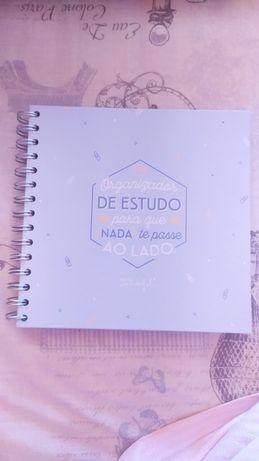 Organizador de estudo/ Agenda - Mr. Wonderful
