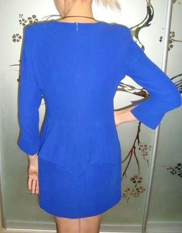 Платье с баской р.M(46)
