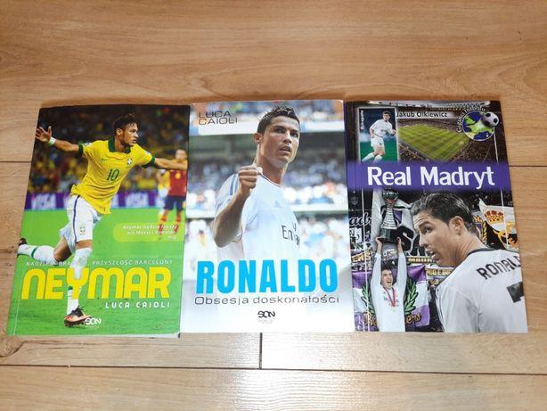 Zestaw książek o tematyce sportowej