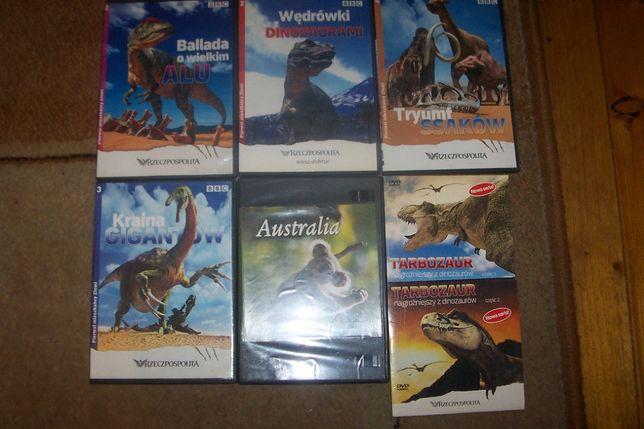 Opowieści o dinozaurach DVD - edukacja