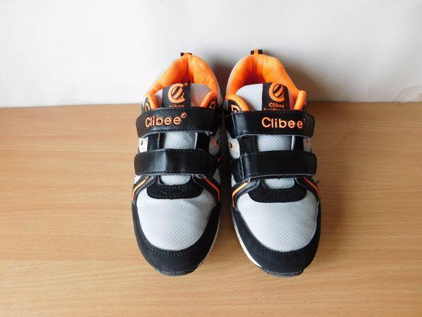 классные кроссовки Clibee 33-34 р. стелька 21,3 см