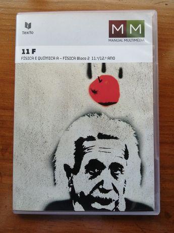 CD de Física e Química 11°/12° ano. Manual multimédia