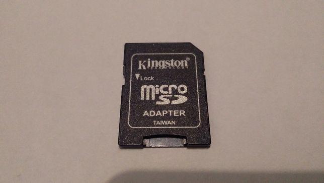 Продаю новий адаптер для microSD флешку Kingston.
