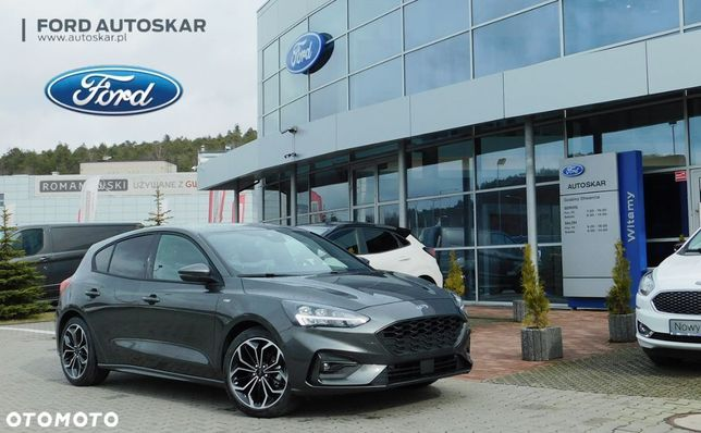 Ford Focus ST LINE 1.5 EcoBoost 150 KM, A8 ST Line X rezerwuj odbiór LISTOPAD