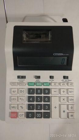 Калькулятор с печатающим устройством CITIZEN CX-121 II:
