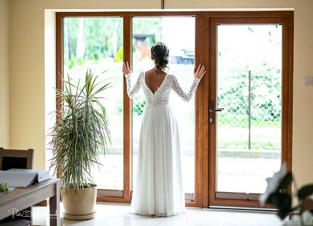 Suknia ślubna Alpiny Mróz rozmiar 36