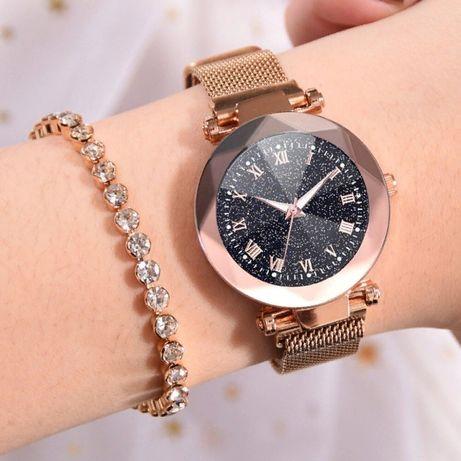 Женские часы STARRY SKY WATCH с римскими цифрами на магнитной застёжке