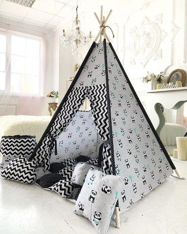Стильный вигвам. Детский домик. Удобный шалаш. Подарок ребенку.