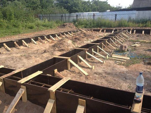 Бетонные работы фундамент стяжки земляные работы Демонтаж-ныне работы