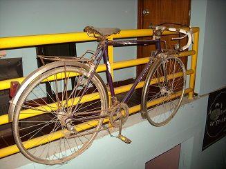 Bicicleta de ciclismo peugeot antiga (anos70)