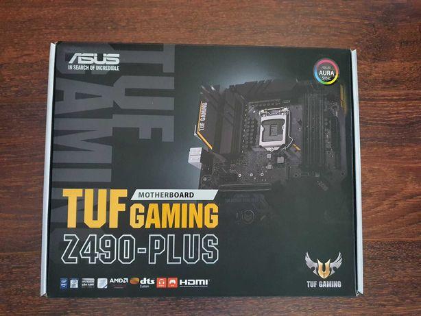 Motherboard TUF Gaming Z490-PLUS Intel Socket LGA 1200 Geração 10