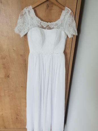 Suknia ślubna 34 36 XS