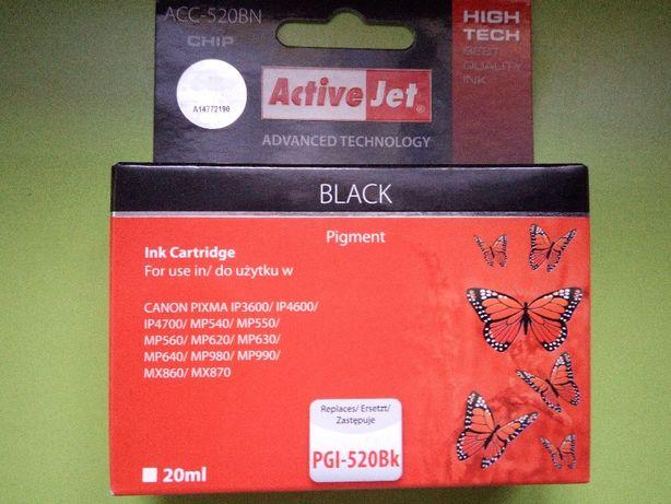 Tusz Canon chip ACC-520BN PGI-520Bk
