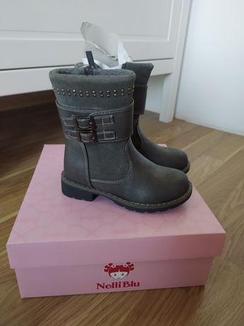 Nowe buty zimowe dla dziewczynki r 25 wkładka 16cm