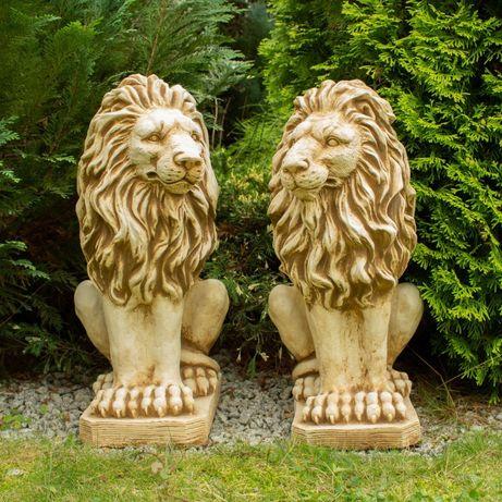 Figury ogrodowe betonowe ozdoba dekoracja lwy para