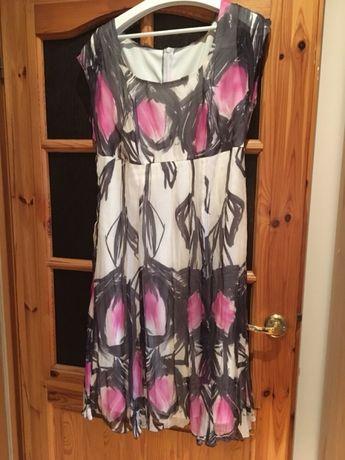 Suknia letnia jedwab
