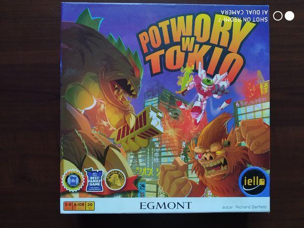 Potwory w Tokio gra planszowa