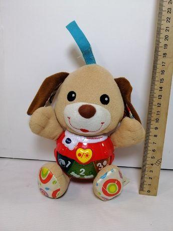 Мягкая интерактивная игрушка собачка(vtech)