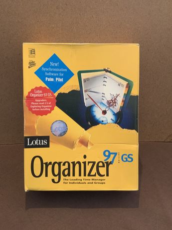 Software Vintage Lotus Organizer 97 GS