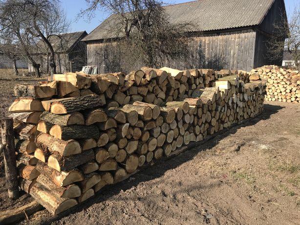 Drewno opalowe dąb, buk,grab,brzoza
