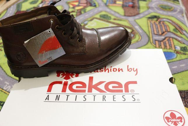 Rieker зимние ботинки-туфли