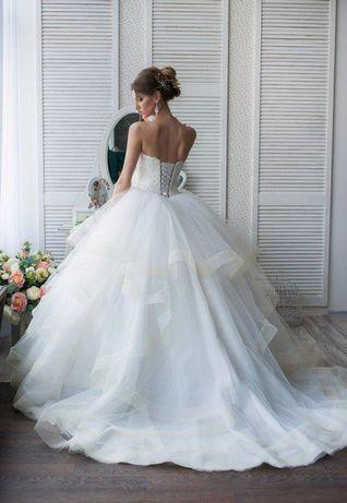 Восхитительное свадебное платье!!!