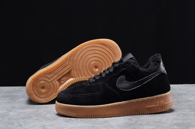 Найк. Мужские кроссовки, зима. Nike 31741. Кросовки, мех. Замша