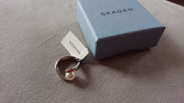 Pierścionek Damski Biżuteria Srebro Skagen
