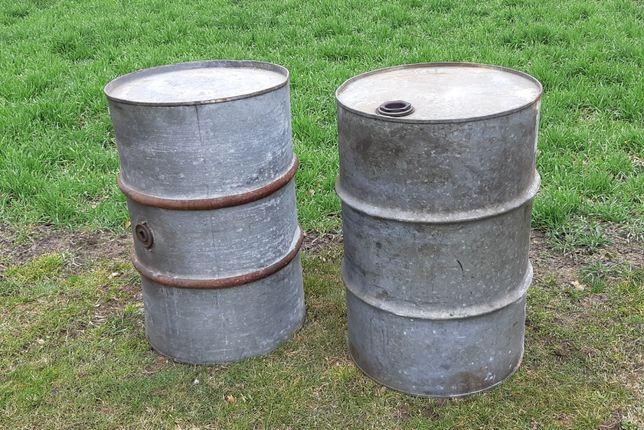 Beczka metalowa ocynkowana 200 litrów