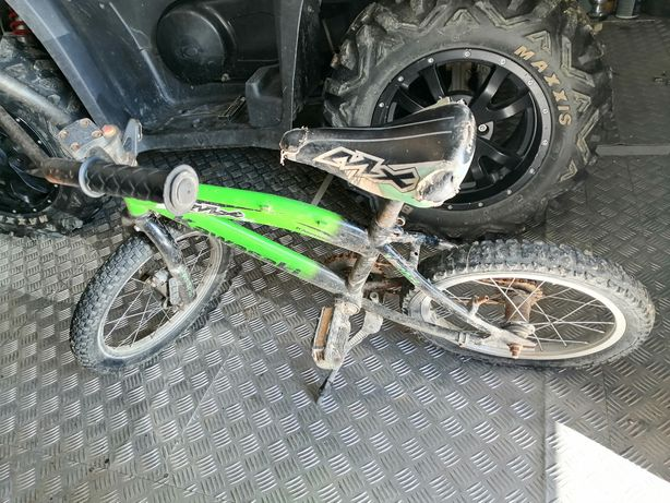 Mały rowerek kawasaki