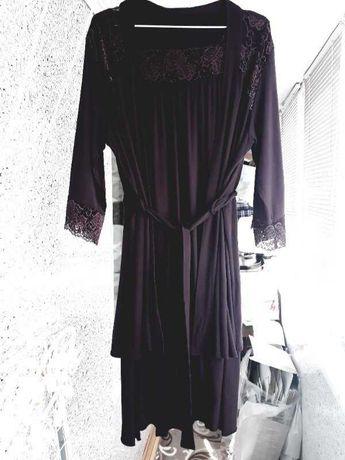 Violet Комплект халат и ночная рубашка