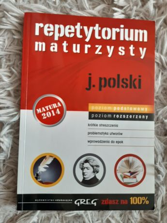 Repetytorium maturzysty z języka polskiego